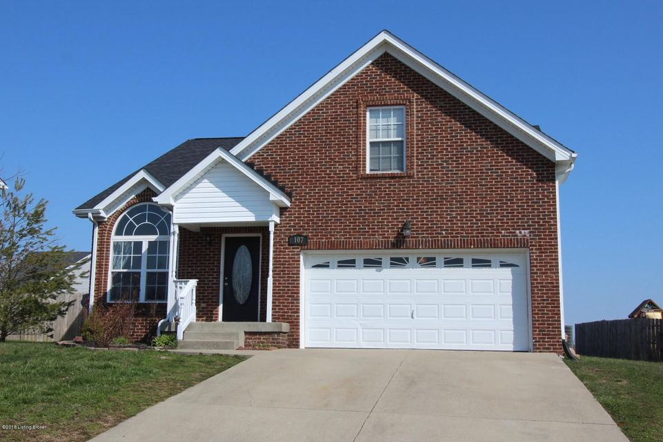 Single Family Home for Sale at 107 Spring Oak Drive 107 Spring Oak Drive Eminence, Kentucky 40019 United States