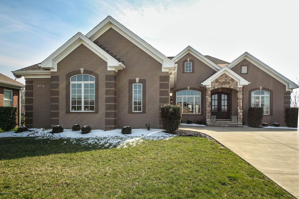 Single Family Home for Sale at 6606 Eagles Bluff Way 6606 Eagles Bluff Way Louisville, Kentucky 40241 United States