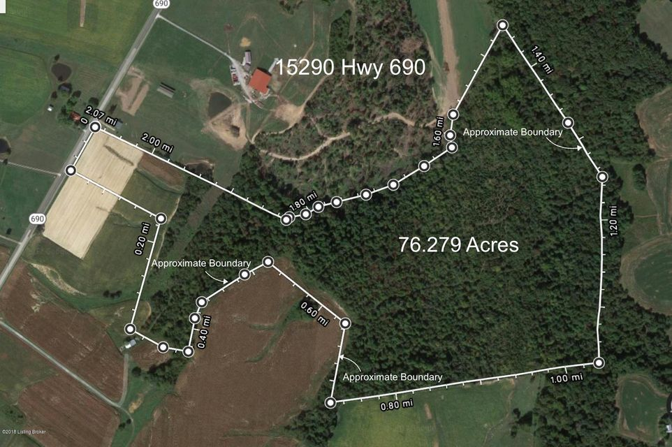 Land for Sale at 15290 KY-690 15290 KY-690 Custer, Kentucky 40115 United States