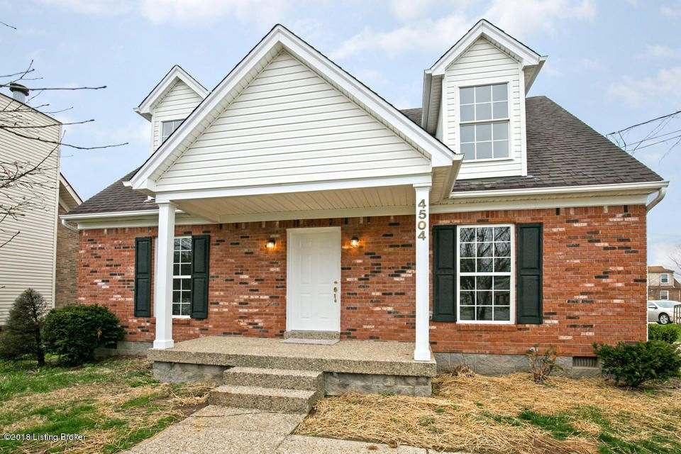 Single Family Home for Sale at 4504 Manslick Road 4504 Manslick Road Louisville, Kentucky 40216 United States