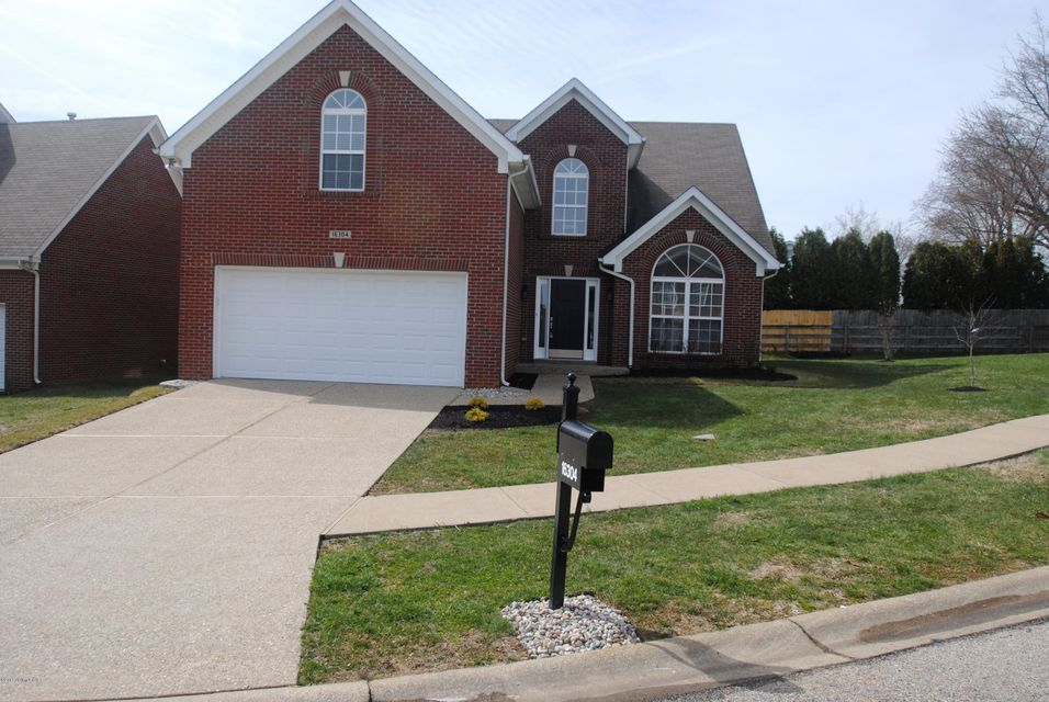 Single Family Home for Sale at 16304 Draw Rein Court 16304 Draw Rein Court Louisville, Kentucky 40245 United States