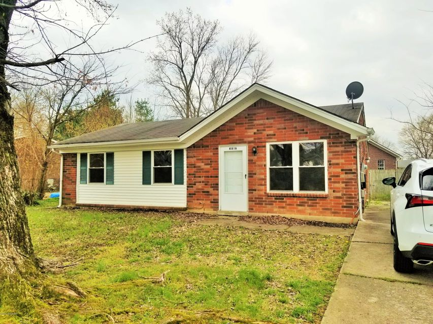 Single Family Home for Rent at 4816 Tipton Place 4816 Tipton Place Louisville, Kentucky 40272 United States