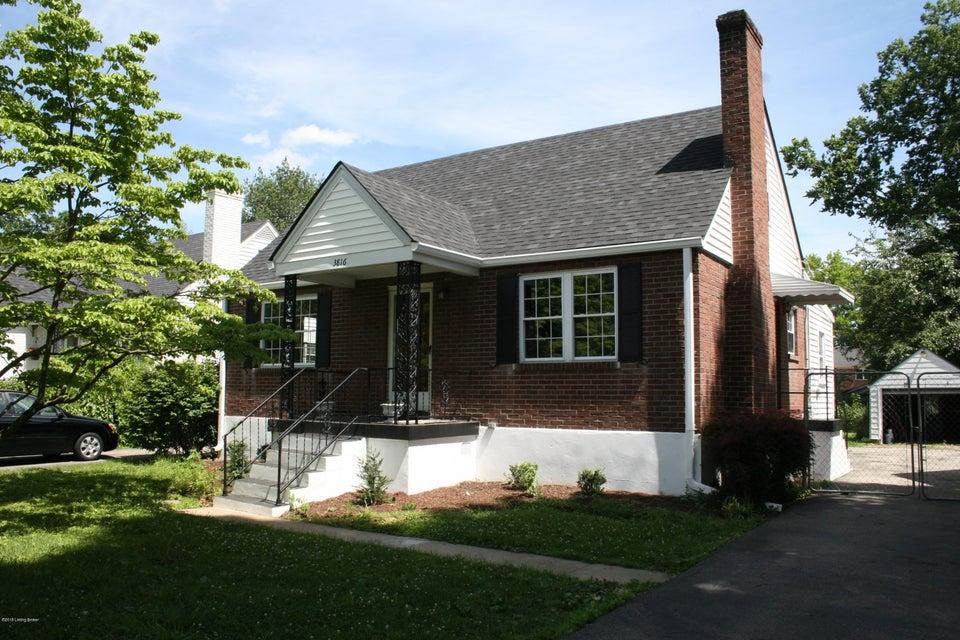 3816 Ormond Rd,Louisville,Kentucky 40207,3 Bedrooms Bedrooms,6 Rooms Rooms,1 BathroomBathrooms,Residential,Ormond,1504150