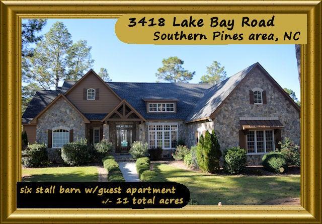 3418 Lake Bay Road, Southern Pines, NC 28387