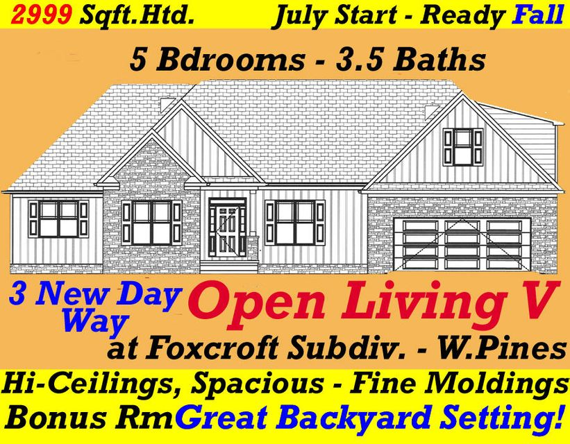 3 New Day Way, Whispering Pines, NC 28327