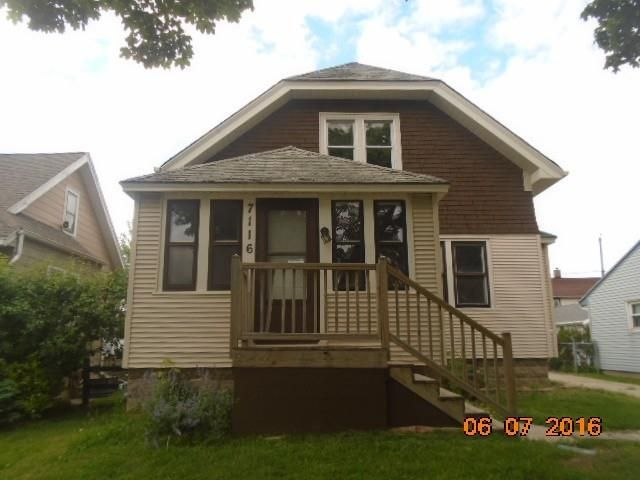 Two Family for Sale at 7116 W Adler St Milwaukee, Wisconsin 53214 United States