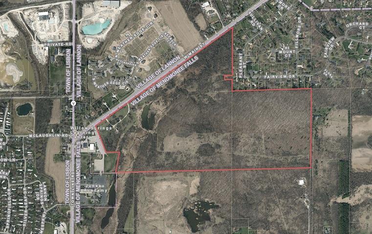 Land for Sale at N67W21805 Main Street N67W21805 Main Street Menomonee Falls, Wisconsin 53051 United States