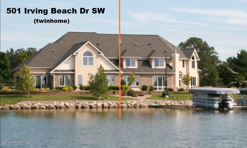 homes for sale on lake irving