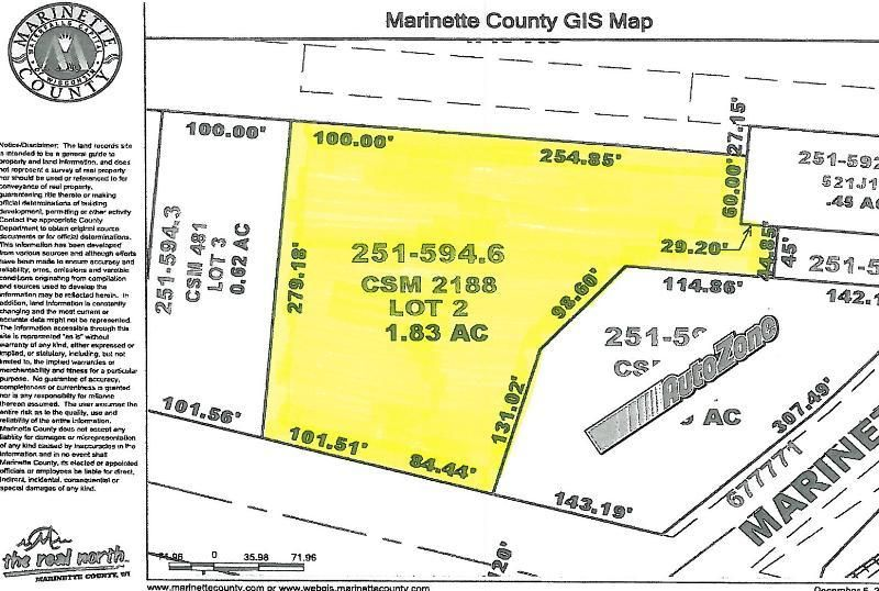 3100 CLEVELAND Avenue, Marinette, WI 54143