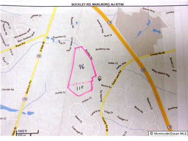 Land for Sale at 76 Buckley Road Marlboro, New Jersey 07746 United States
