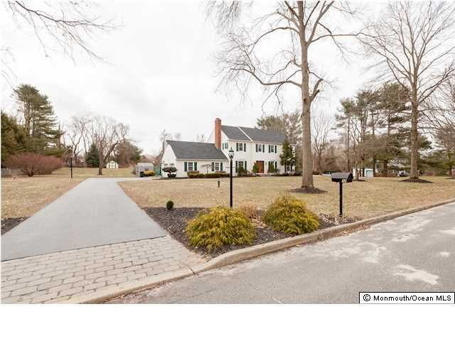 Photo of home for sale at 12 Carriage Hill Drive Drive, Colts Neck NJ