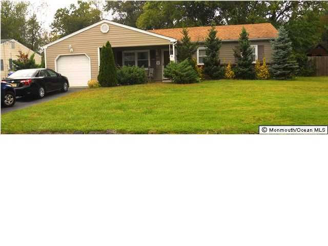 Photo of home for sale at 135 Meridian Drive Drive, Brick NJ
