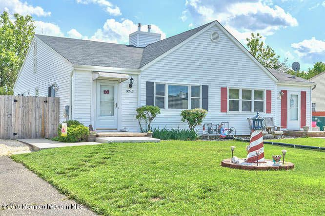 Photo of home for sale at 3249 Mystic Port Place Place, Toms River NJ
