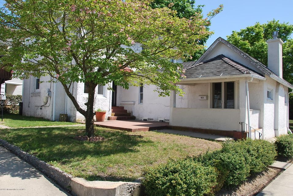 Photo of home for sale at 102 Bennett Avenue Avenue, Neptune City NJ
