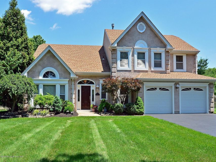 Photo of home for sale at 306 Adams Court Court, Manalapan NJ
