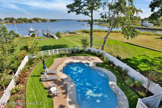 Single Family Home for Sale at 165 Monmouth Boulevard Oceanport, New Jersey 07757 United States