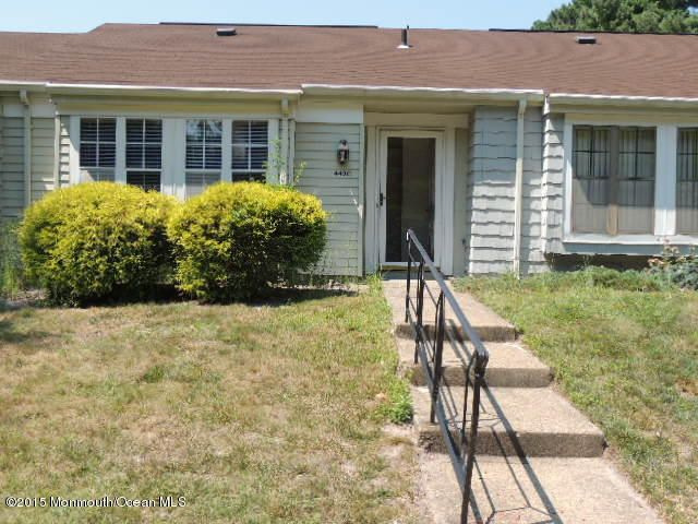 Photo of home for sale at 442c Dartmoor Way Way, Manchester NJ
