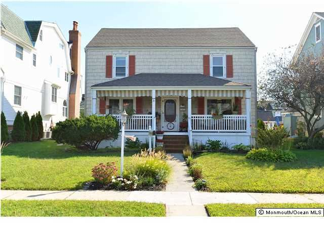 Single Family Home for Sale at 103 Garfield Avenue Avon By The Sea, New Jersey 07717 United States