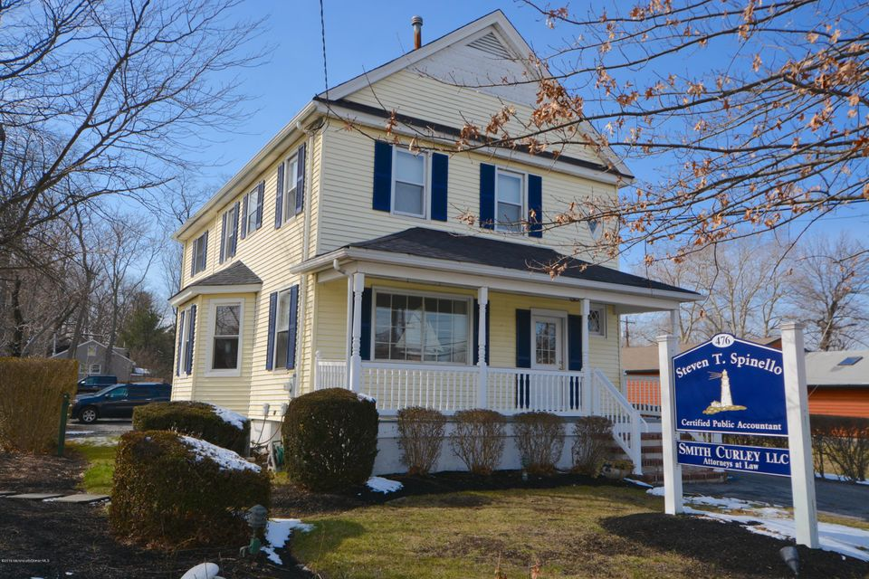 Commercial for Sale at 476 Broad Street Shrewsbury, 07702 United States