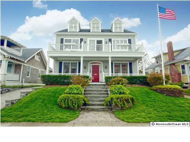 Single Family Home for Sale at 4 Beacon Boulevard Sea Girt, New Jersey 08750 United States