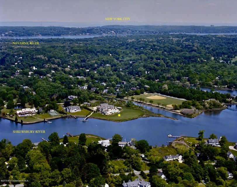 Single Family Home for Sale at 41 Oakes Road Rumson, New Jersey 07760 United States