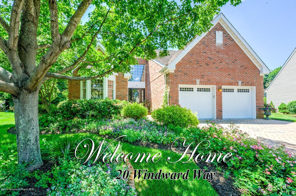 Single Family Home for Sale at 20 Windward Way Red Bank, New Jersey 07701 United States