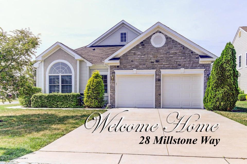 Maison unifamiliale pour l Vente à 28 Millstone Way Waretown, New Jersey 08758 États-Unis