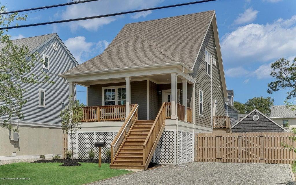 Maison unifamiliale pour l Vente à 268 Virginia Avenue Manasquan, New Jersey 08736 États-Unis
