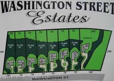 土地 为 销售 在 1104 Washington Street 汤姆斯河, 新泽西州 08753 美国