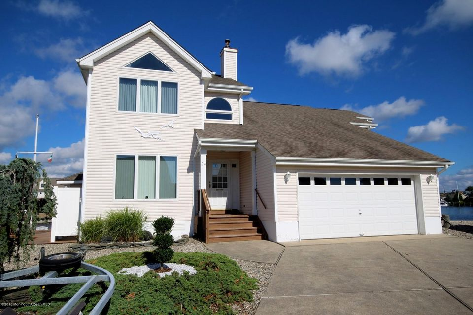Single Family Home for Sale at 24 Steerage Way Bayville, New Jersey 08721 United States