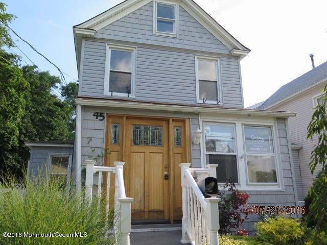 独户住宅 为 销售 在 45 South Avenue 大西洋高地, 新泽西州 07716 美国