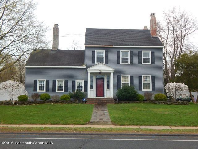 Single Family Home for Sale at 744 Leonardville Road Leonardo, New Jersey 07737 United States