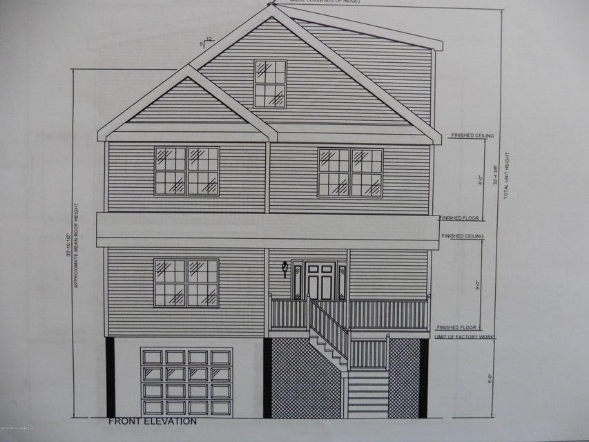 Maison unifamiliale pour l Vente à 411 Carter Avenue Point Pleasant Beach, New Jersey 08742 États-Unis