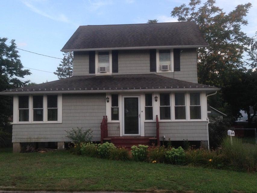 Maison unifamiliale pour l Vente à 58 Washington Avenue Leonardo, New Jersey 07737 États-Unis
