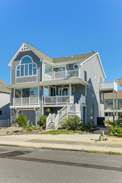 Single Family Home for Sale at 24 4th Avenue Seaside Park, New Jersey 08752 United States