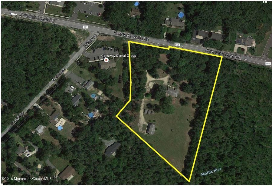 Land for Sale at 202-208 Jimmie Leeds Road Galloway, New Jersey 08205 United States