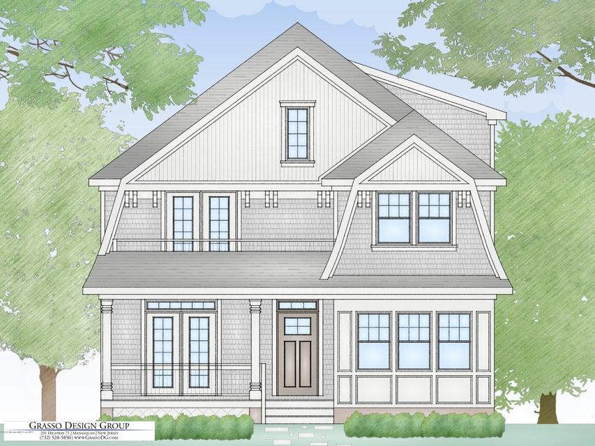 独户住宅 为 销售 在 212 Chicago Boulevard Sea Girt, 08750 美国