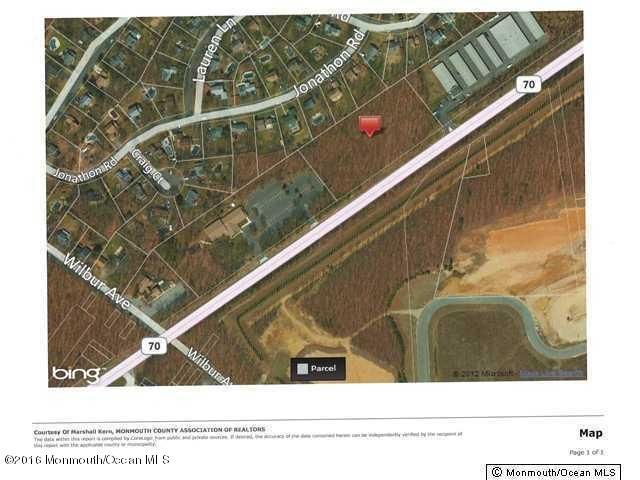 Land for Sale at 2370 Route 70 Manchester, New Jersey 08759 United States
