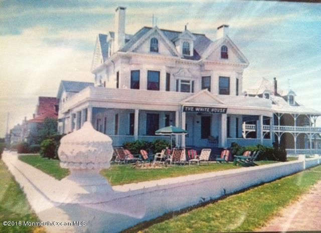 white house postcard 1960