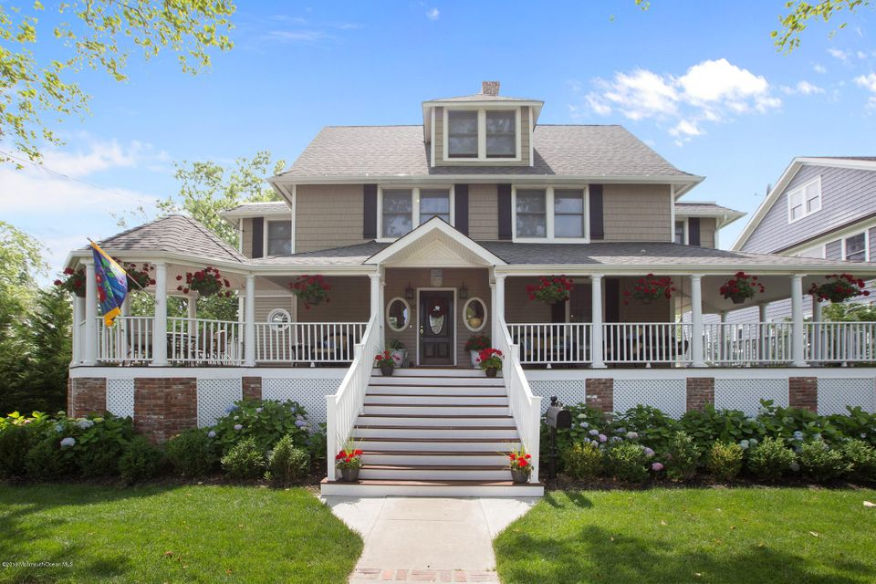 Single Family Home for Sale at 14 River Avenue Monmouth Beach, New Jersey 07750 United States