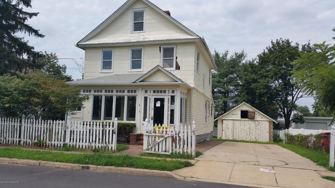 Single Family Home for Sale at 18 Augusta Street Jamesburg, New Jersey 08831 United States