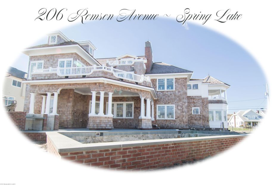 Single Family Home for Sale at 206 Remsen Avenue Spring Lake, New Jersey 07762 United States