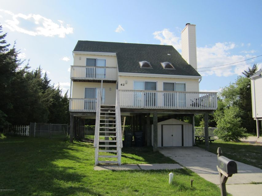 Single Family Home for Rent at 62 Ocean Boulevard Little Egg Harbor, New Jersey 08087 United States