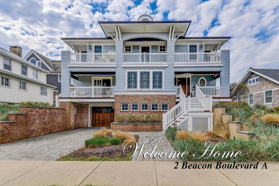 Maison unifamiliale pour l Vente à 2 Beacon Boulevard Sea Girt, New Jersey 08750 États-Unis