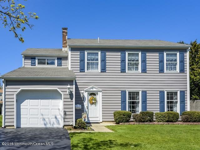 独户住宅 为 销售 在 9 Templer Way 黑兹利特, 新泽西州 07730 美国