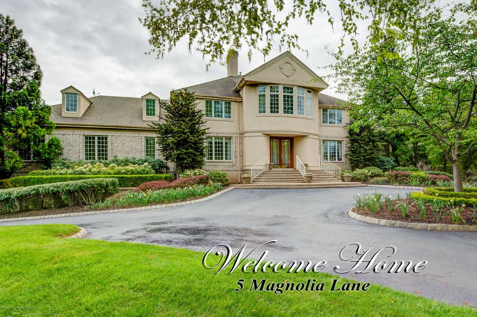 Single Family Home for Sale at 5 Magnolia Lane Colts Neck, New Jersey 07722 United States