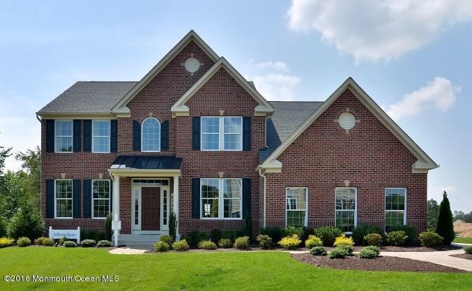 Maison unifamiliale pour l Vente à 6 Morse Drive Millstone, New Jersey 08535 États-Unis