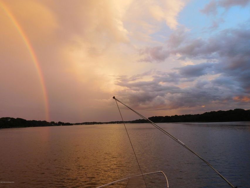 Rainbow from the dock