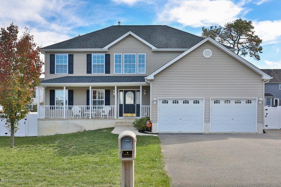 Maison unifamiliale pour l Vente à 141 Squall Road Manahawkin, New Jersey 08050 États-Unis
