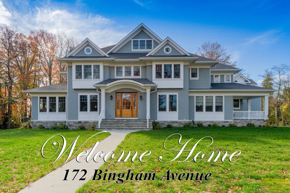 Single Family Home for Sale at 172 Bingham Avenue Rumson, New Jersey 07760 United States